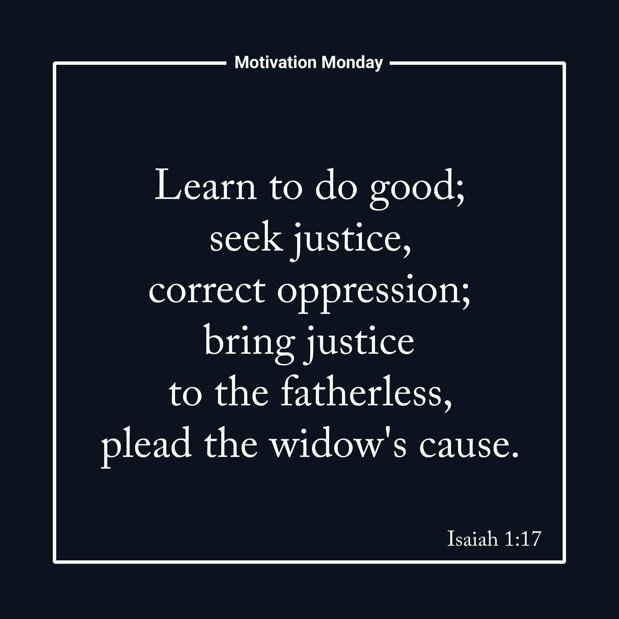 Isaiah 1:17