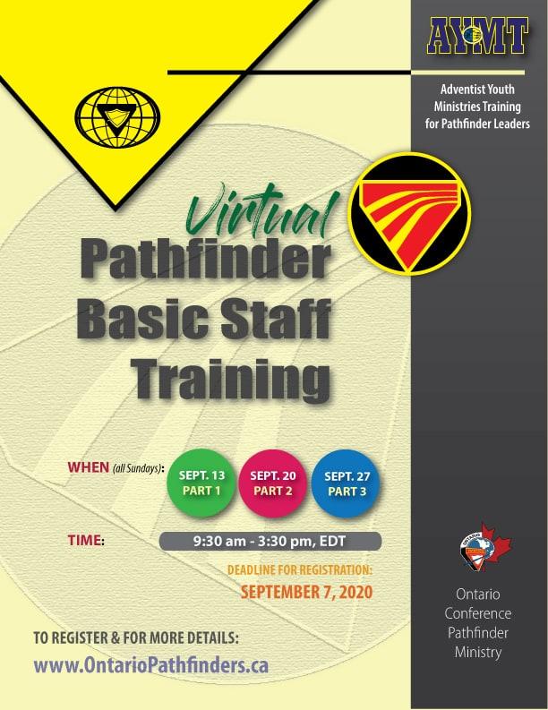 Virtual Pathfinder Basic Staff Training