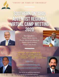 Southern Ontario Adventist Regional Camp Meeting 2020
