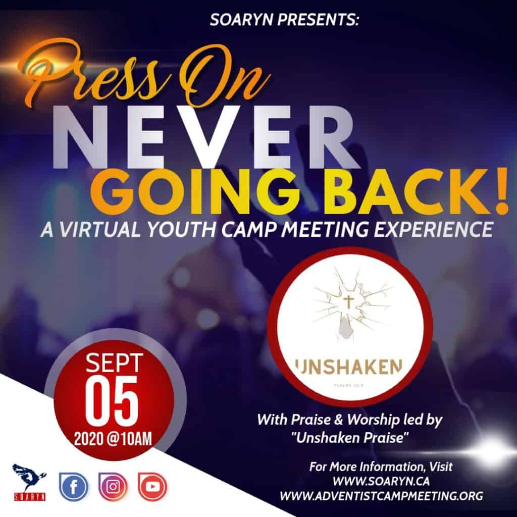 Flyer for Youth Camp Meeting Experience