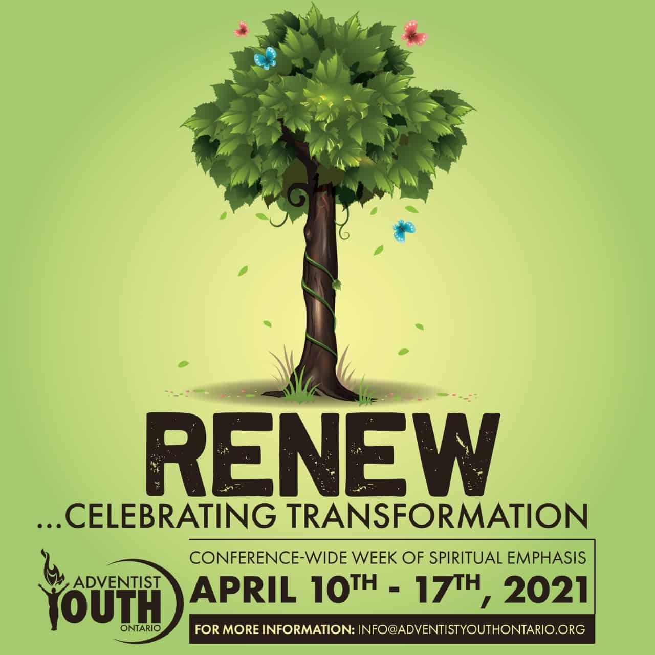 Youth Week of Spiritual Emphasis 2021