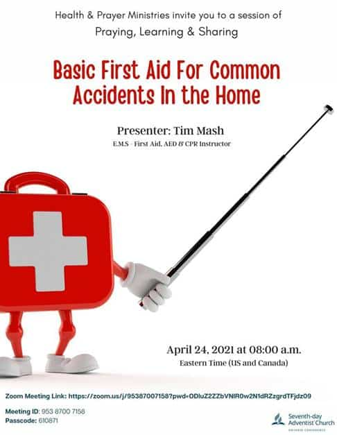 BASIC FIRST AID FOR COMMON ACCIDENTS IN THE HOME