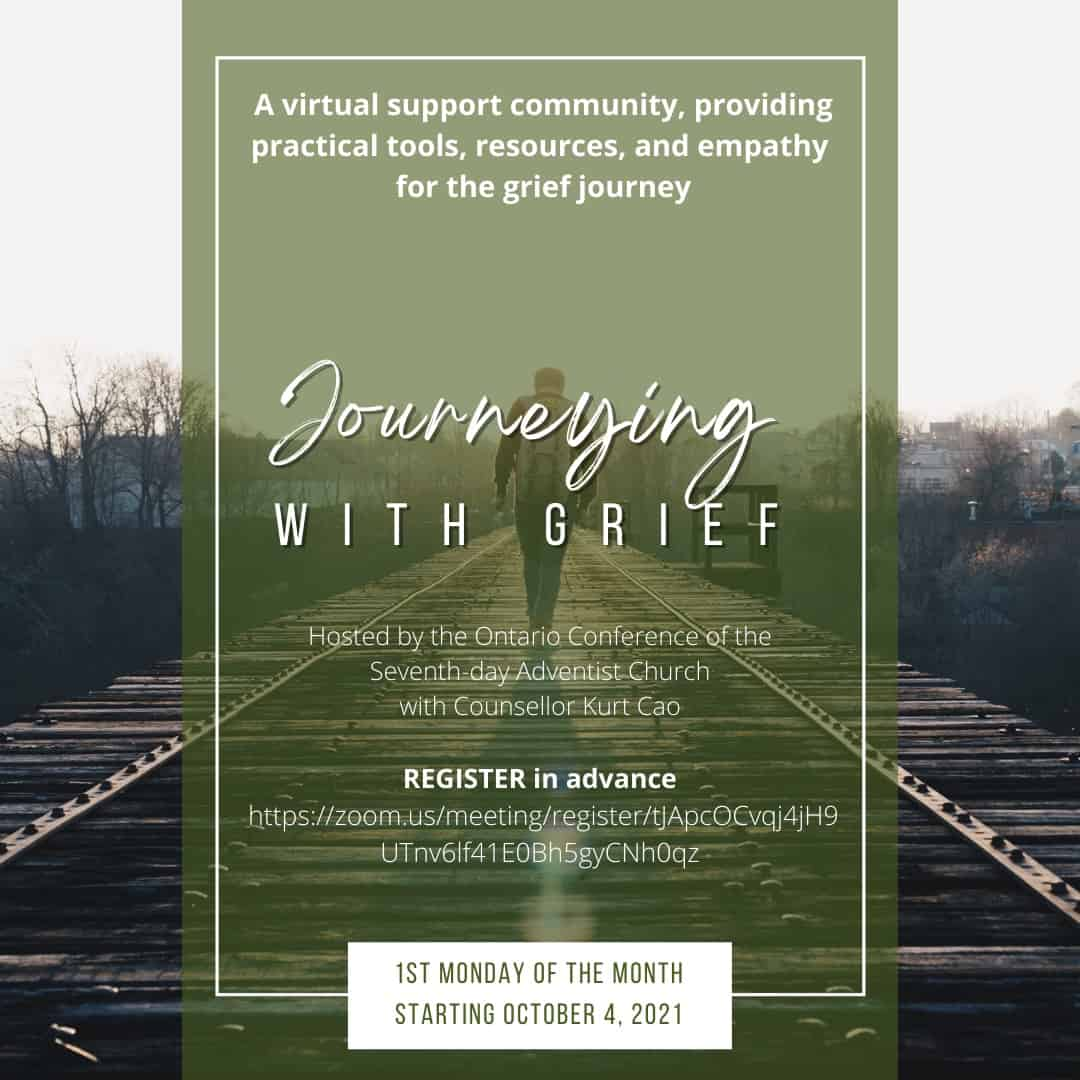 Journeying with grief flyer