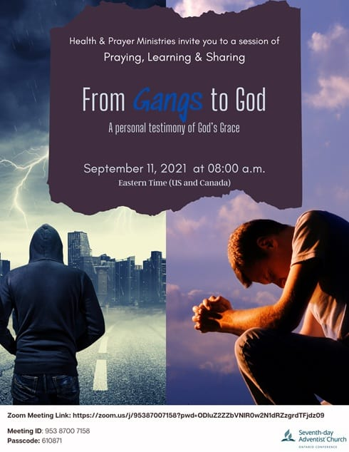 from gangs to god flyer